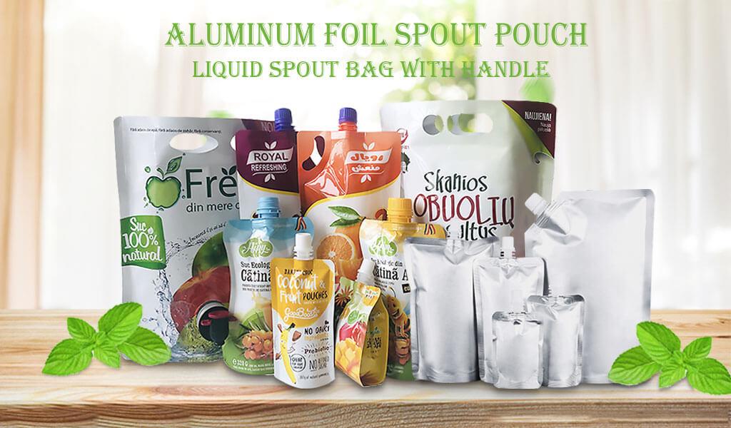 full color aluminum foil bag