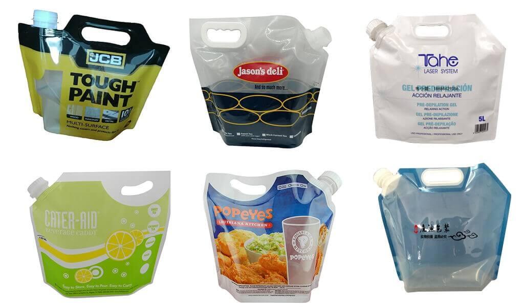 handle spout bag