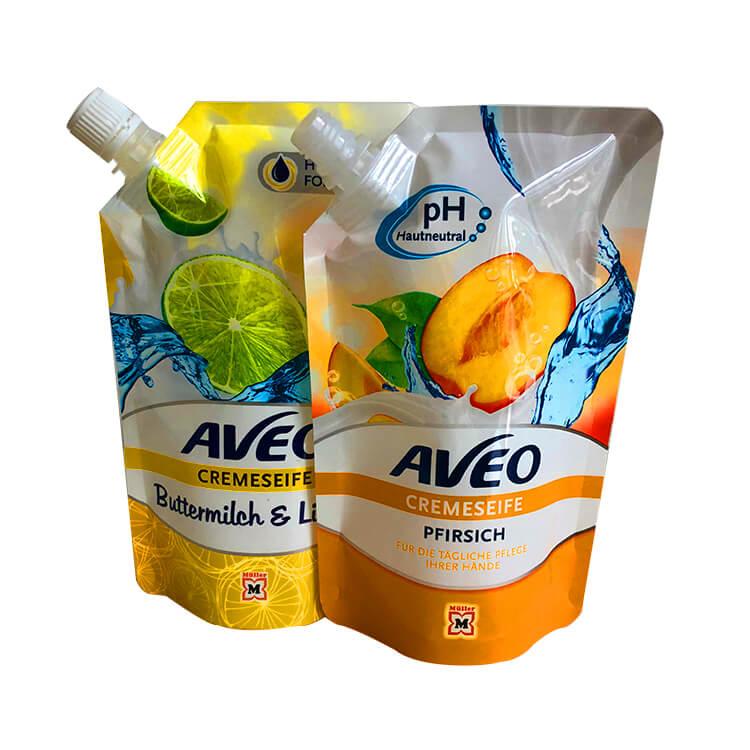 detergent spout bag