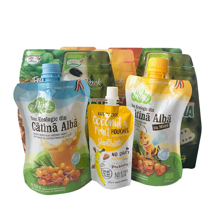 juice packaging spout bag