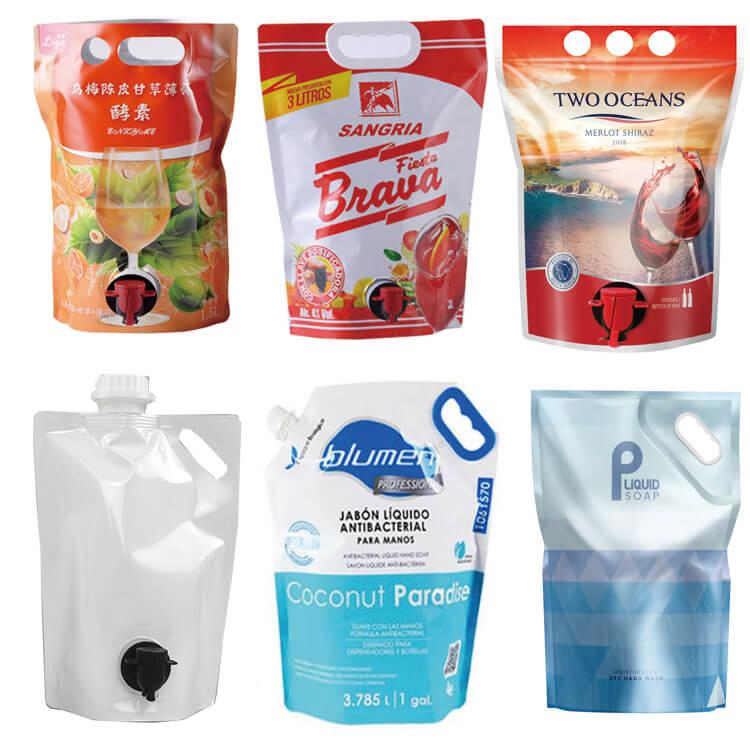 spout pouches use