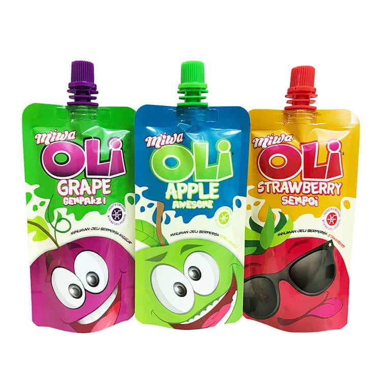 Beverage Baby Food Pouch