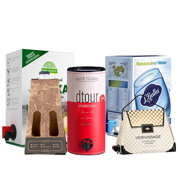 Coffee Juice Liquid Bag In Box