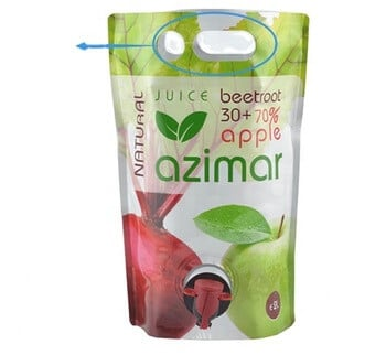 Drink Juice Bag With Spout Tap