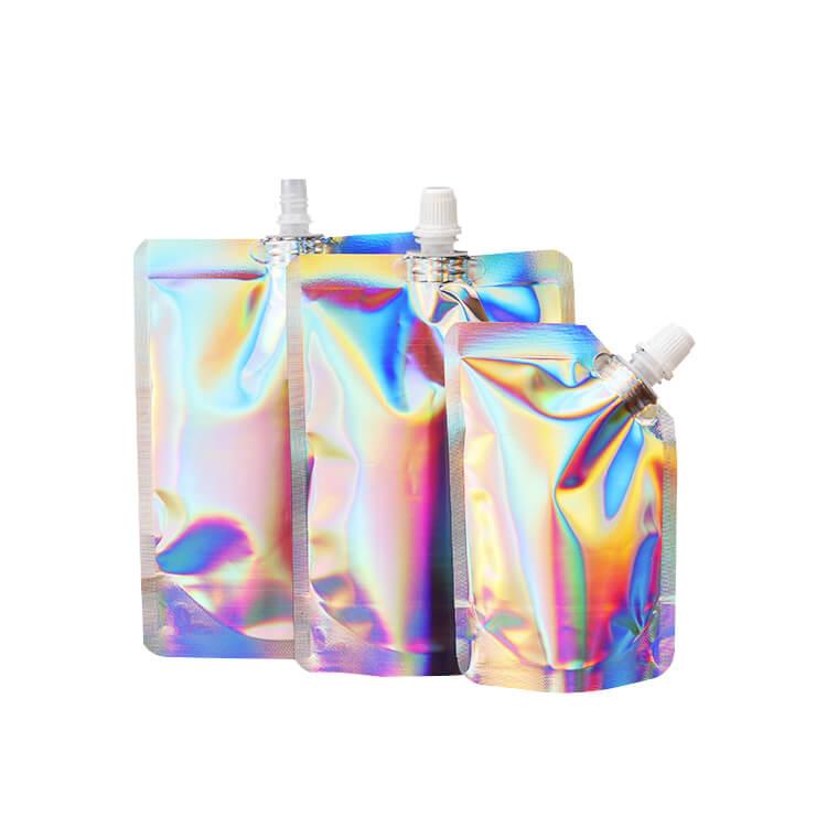 Hologram Spout Bag