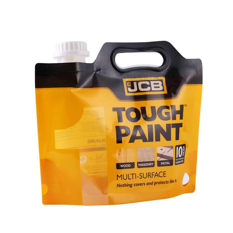 Paint Spout pouch With Handle