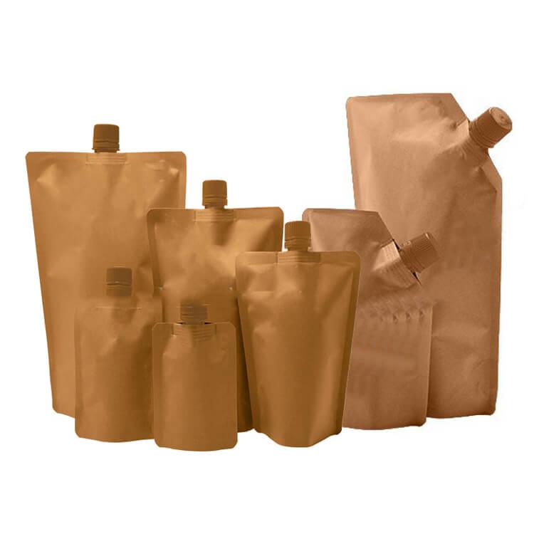 biodegradable kraft paper pouch