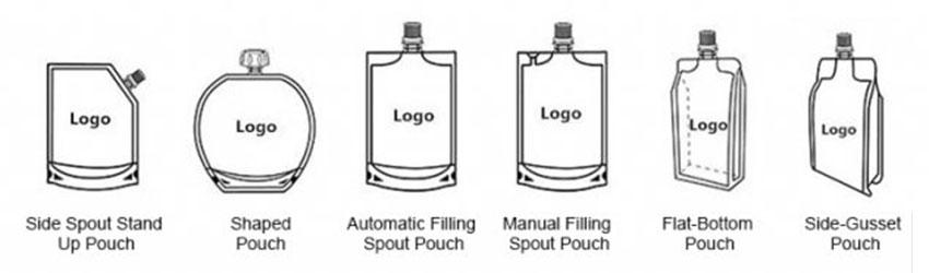 spout pouch style
