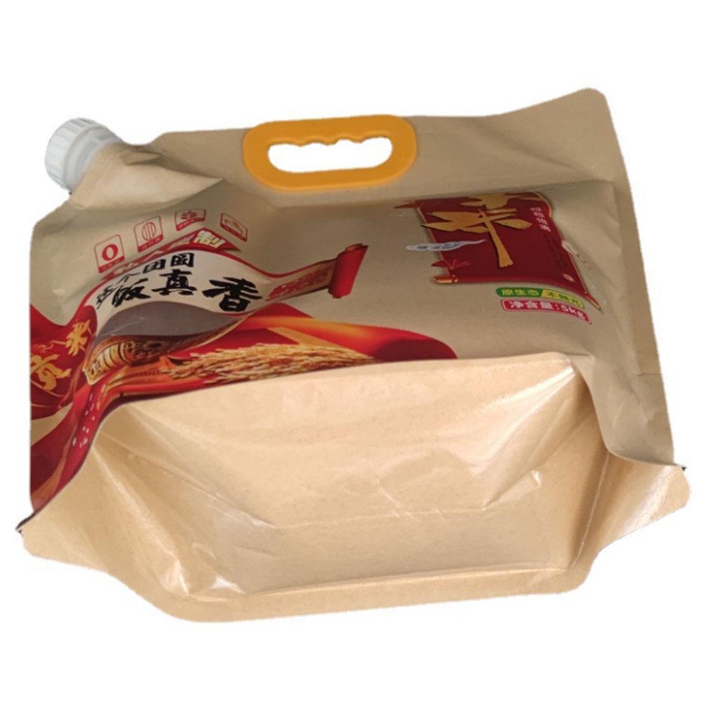 Kraft Paper Spout Pouch